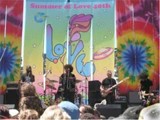 Summer of Love stage close up